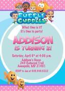 Bubble Guppies Invitations