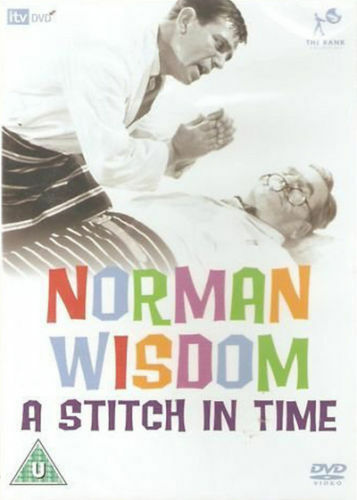 A STITCH IN TIME 1963 NORMAN WISDOM EDWARD CHAPMAN RANK UK REGION 2 DVD L NEW