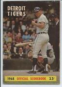 Detroit Tigers Scorebook
