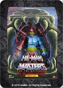 AUSPACK# Trap Jaw 2.0 Filmation Club Grayskull MOTU Masters He Man Classics 2016