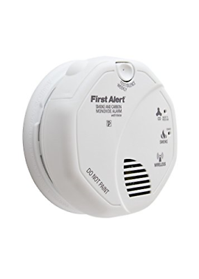 First Alert SCO500B Wireless Interconnected Photoelectric Sm