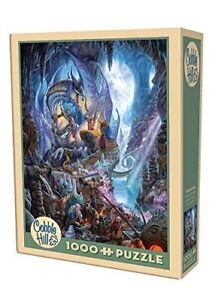 COBBLE HILL 1000 PUZZLE DRAGONFORGE COMME NEUF TAXES INCLUSES