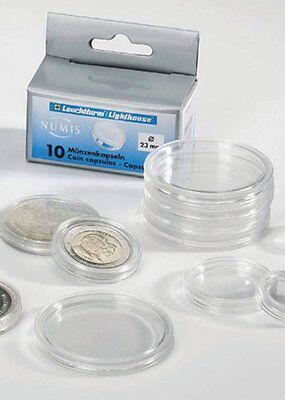 Lighthouse Coin Capsules (10),  CAPS41, (41 mm-US Silver Eagles)-20% OFF