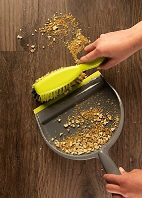 Nicole Home Collection Dustpan and Brush Set - Made in Italy