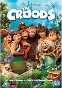 DREAMWORKS = THECROODS = CERT U FAMILY FILM COMEDY