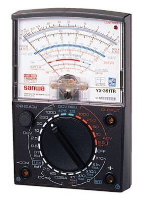 Sanwa Yx-361tr Analog Multi-tester Multimeter Wide Measurement Range Japan New