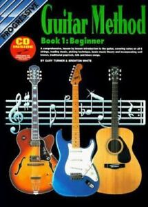 CP54048 - Progressive Guitar Method - Book 1 Gary Turner And Brenton White Pape - $5.99