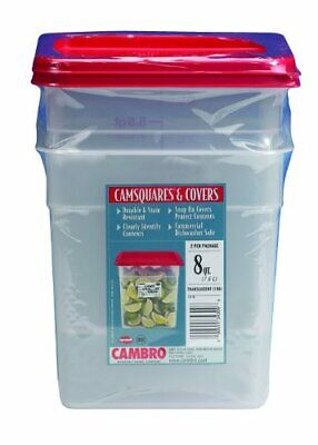 Cambro RFS4PPSW3190 4-Quart Round Food-Storage Container