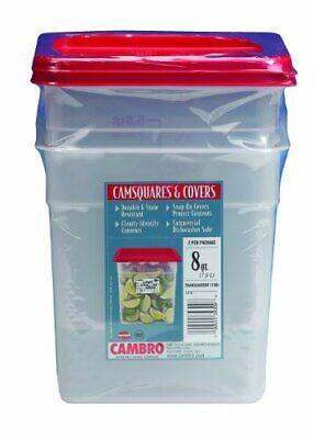 Cambro RFS4PPSW3190 4-Quart Round Food-Storage Container wit