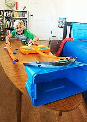 Mattel Hot Wheels Edition Track Builder Super-Stuntbox Kinderspiele Spielzeug NE