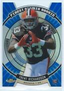 2012 Topps Finest Trent Richardson