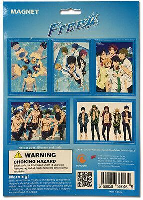 Legit   Free Iwatobi Swim Club Haruka Makoto Nagisa Group Magnet Set  39046