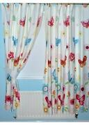 Girls Lined Curtains