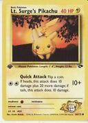 LT. Surge's Pikachu