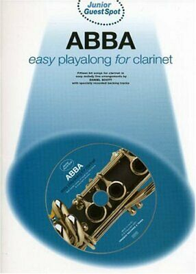JUNIOR GUEST SPOT ABBA EASY PLAYALONG (CLARINET) CLT BOOK/CD by Various Book The