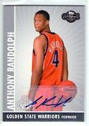 Anthony Randolph Auto