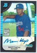 2005 Bowman Chrome Matt Kemp