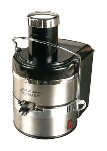 Jack Lalanne's JLSS Power Juicer Deluxe Stainless-Steel Electric