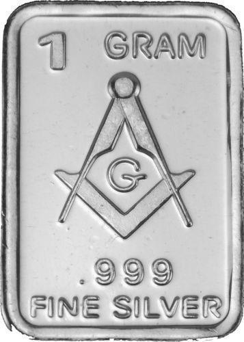 Masonic Silver Coin Ebay