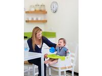 Keter Easy Feeding Booster Seat.