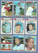 1970 Baseball Card Lot