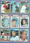 1970 Baseball Card Lot