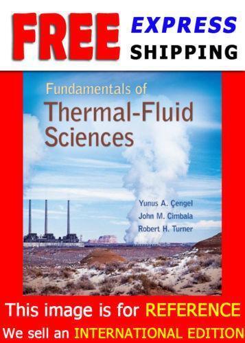 Fundamentals of thermal fluid sciences ebay fandeluxe Images