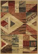 Contemporary Area Rug 4x6