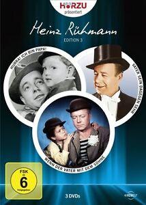 Hörzu präsentiert Heinz Rühmann Edition 3  - 3 DVDs - Neu u. OVP