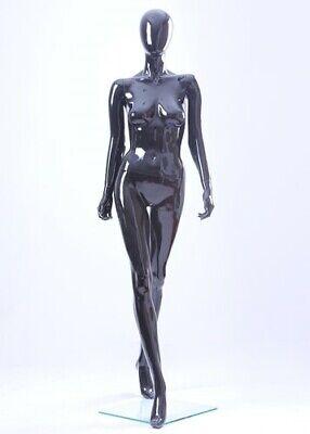 Black Glossy Female Mannequin Glb3 New