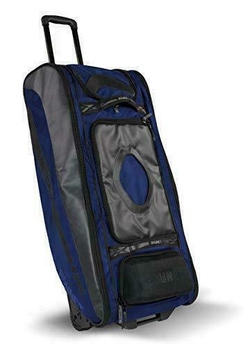 Bownet Cadet Players Equipment Bag, Youth Catchers, Baseball and Softball, Navy