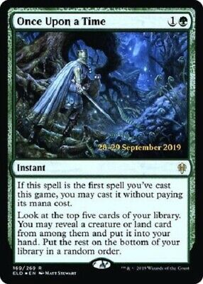 MTG *Once Upon a Time Prerelease foil X1* (NM) Throne of Eldraine Magic
