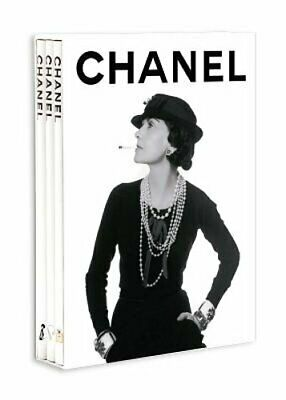 Chanel 3-Book Slipcase by Francois Baudot: New