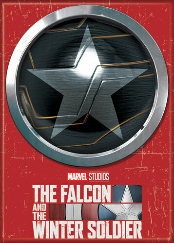 The Falcon & The Winter Soldier Photo Quality Magnet Winter Soldier Icon