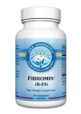 Apex Energetics K-25 Fibromin Fiber Dietary Supplement, 90 Capsules
