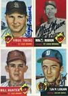 Signed 1953 Topps Archives