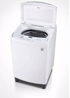 L G 7.5kg top loader washing machine