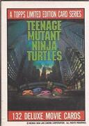 Teenage Mutant Ninja Turtles Trading Cards