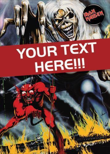 Iron Maiden Cards Ebay