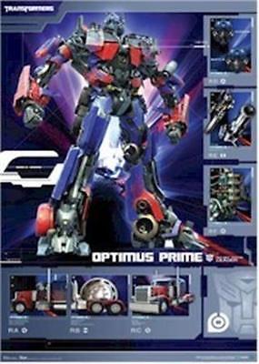 2007 TRANSFORMERS OPTIMUS PRIME POSTER 22x34 FREE SHIPPING Transformers Prime-poster