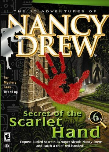 Computer Games - Nancy Drew: Secret of the Scarlet Hand - Windows PC Computer Game - Mystery # 6