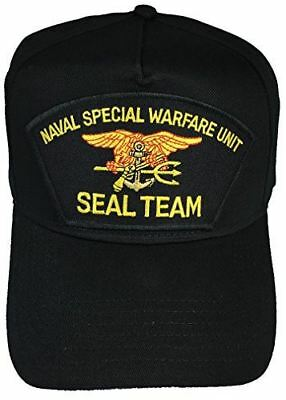NAVAL SPECIAL WARFARE UNIT SEAL TEAM HAT CAP TRIDENT SEA AIR LAND TEAM FROGMEN