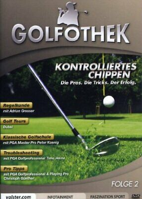 Golfothek - Kontrolliertes Chippen ( Regelkunde, Golf Tours, Troubleshooting NEU