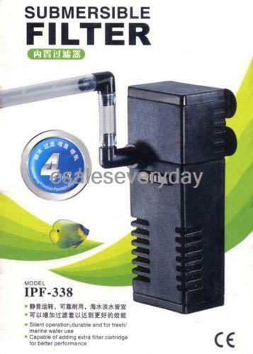 Fish tank filter pump ebay for Fish tank filtration