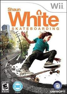 Shaun White Snowboarding: World Stage + Shaun White Skateboarding (Nintendo Wii Game) NEW. Sealed. 2 Game Pack