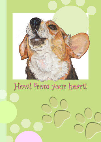 Beagle Blank Note Cards Boxed