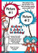 Dr Seuss Invitations
