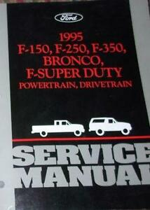 Ford F Service Manual