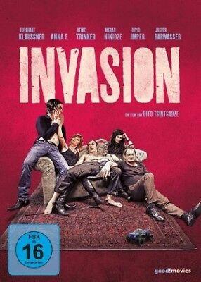 BURGHART KLAUSSNER//HEIKE TRINKER/DAVID IMPER/+ - INVASION  DVD NEW