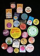 Pinback Buttons Lot